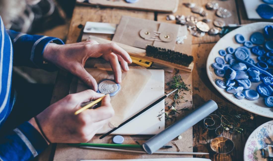 Concentración para la pintura en vivo