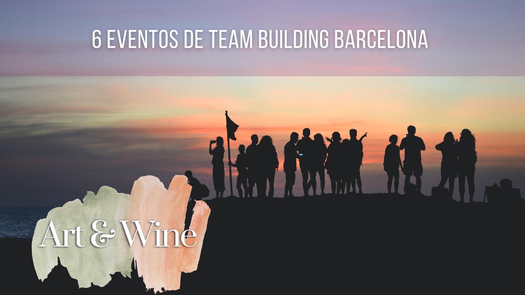 6 Team building activities in Barcelona
